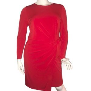 Jones New York side cinched dress